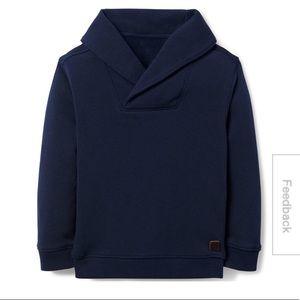 JANIE&JACK Boys Shawl Collar Sweater Top Navy 2T